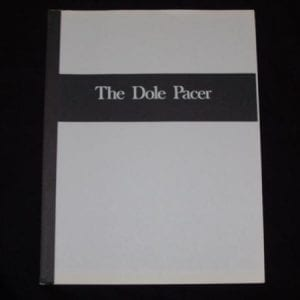 Dole Pacer Fountain Dispenser Service & Parts Manual