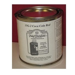 Coca Cola Red Lettering/Touch Up Paint