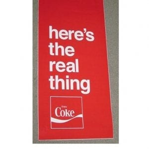TEMPORARILY OUT OF STOCK !! Here's The Real Thing Vinyl Decal