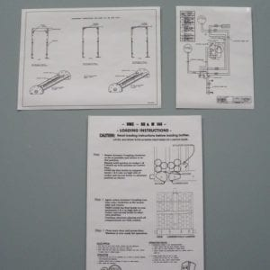 VMC 88 Loading & Wiring Diagram Decals