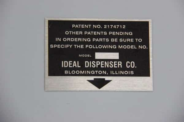 Reproduction Ideal Slider ID Tag