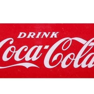 Drink Coca Cola Decal for Small Acton Cooler