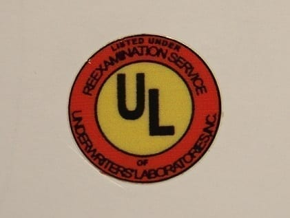 UL Vinyl Decal