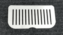 Drain Grate for Cornelius 3 Head Dispenser