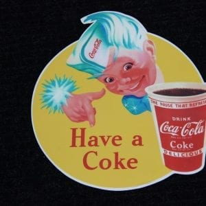 Have a Coke with Sprite Boy & Cup Vinyl Decal