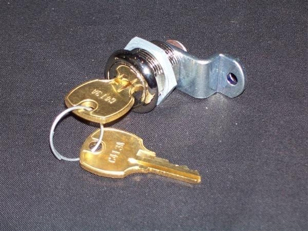Replacement Single-Bitted Lock for Vendorlator VMC 27, VMC 27A or VMC 33
