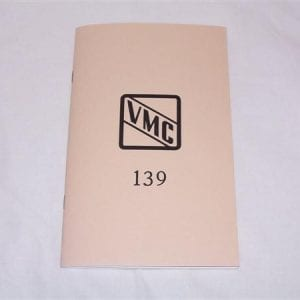 Vendorlator VMC 139 Manual