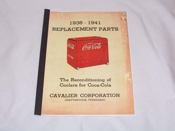 Cavalier 1936-1941 Replacement Parts Catalog Manual