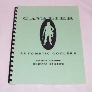 Cavalier C3 & C4 Automatic Coolers Service Manual