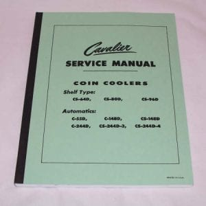 Cavalier Combined Service & Parts Manual