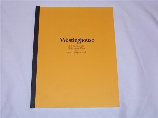 Westinghouse Coolers R-1 & WC96SK Service Manual