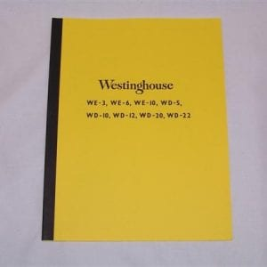 Westinghouse Open Top Coolers Service & Maintenance Manual