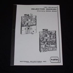 National Rejectors Series 1-15 & 1-19 Coin Rejector Service Manual