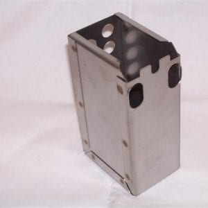 Reproduction Coin Box for Vendo Machines With Square Corners