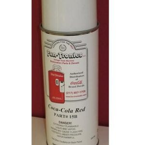 Coca-Cola Red Spray Paint