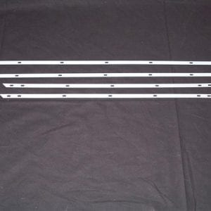 Galvanized Metal Strips for Pre-WWII Standard Ice Cooler Gasket