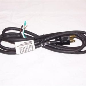 Replacement Black Power Cord
