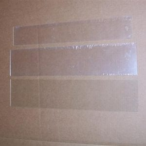 Glass & Plexiglass Set for Vendo & Vendorlator V-56