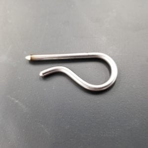 Hairclip Pin for VMC Vendorlator Crank Handle
