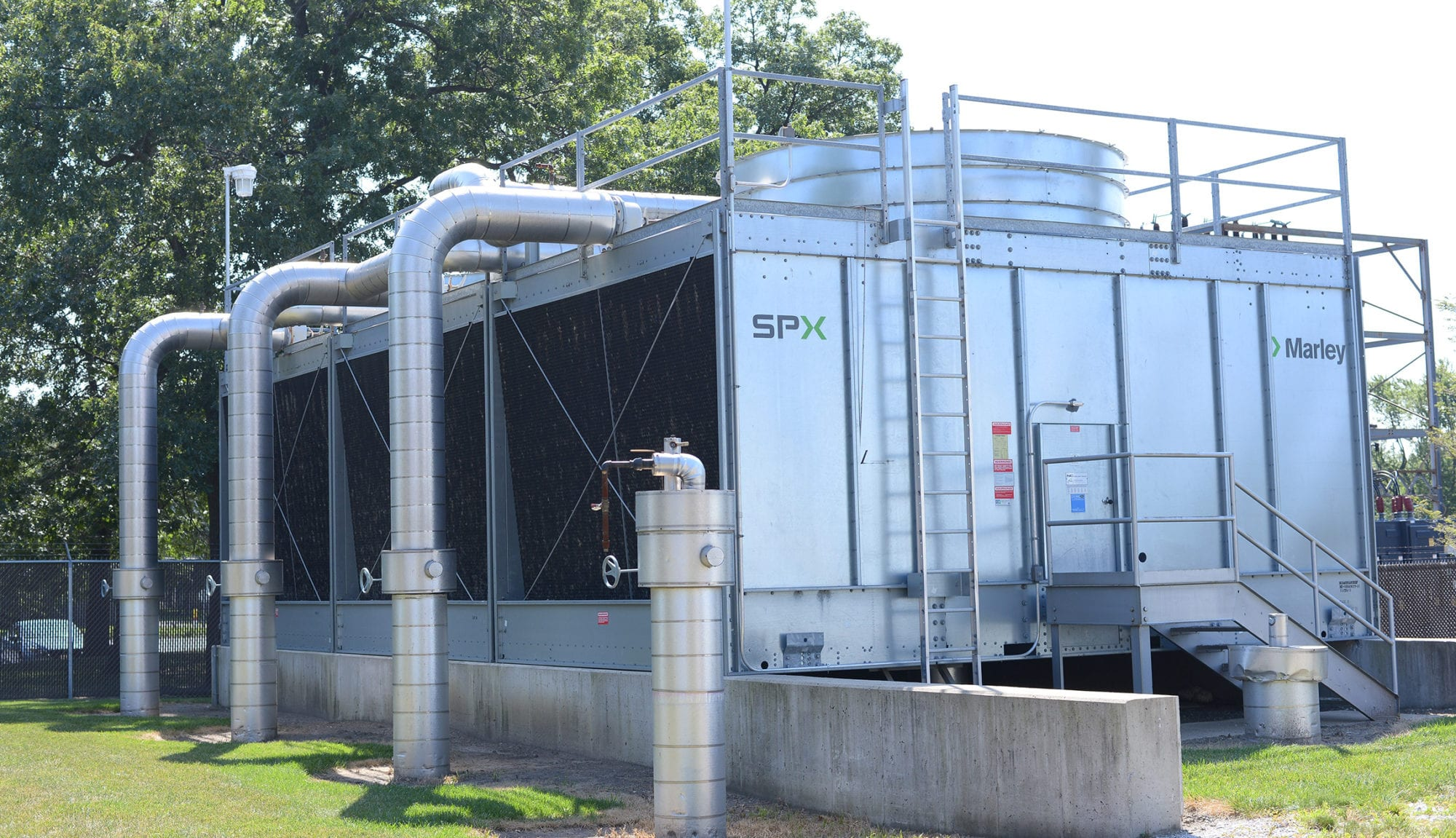 Cooling Tower Cleaning & Maintenance RYDLYME