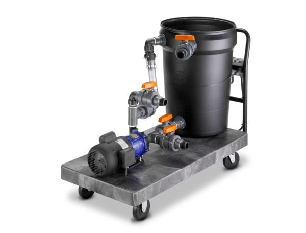 15MDC Industrial Descaling System. Image of complete descaling system.