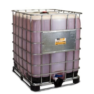 RYDALL CC Coil Cleaner. Product shown in a 330 gallon container.